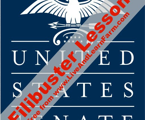 Free Filibuster Lesson - Live and Learn Farm