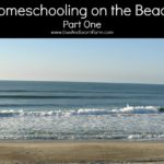 Homeschooling on the Beach Part 1