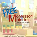 Free Montessori Materials from Around the Web