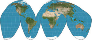 Goode map