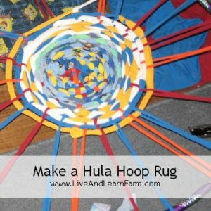 How to Make a Hula Hoop Rug