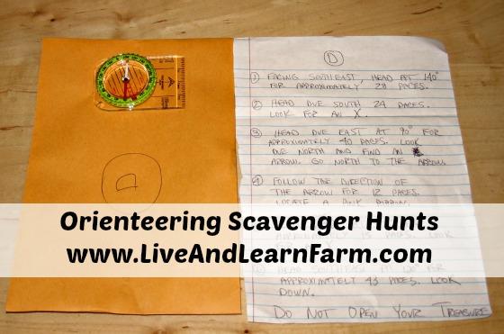 Orienteering Scavenger Hunts