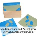 Sandpaper Land and Water Study