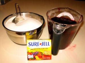 Blackberry Jelly Ingredients