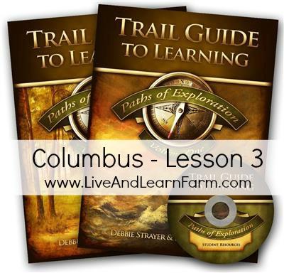Paths of Exploration Columbus Lesson 3