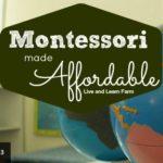 Montessori Made Affordable December 29th