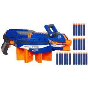 Nerf Hailfire Gun