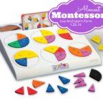 Almost Montessori Fraction Circles