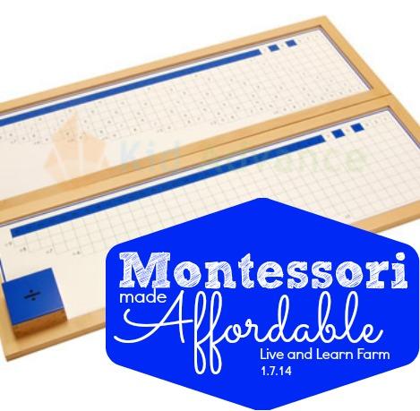 Montessori Division Materials