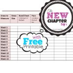 The New Chapter – Day 1 with Free Printable