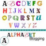 A: Alphabet Posts and Animals