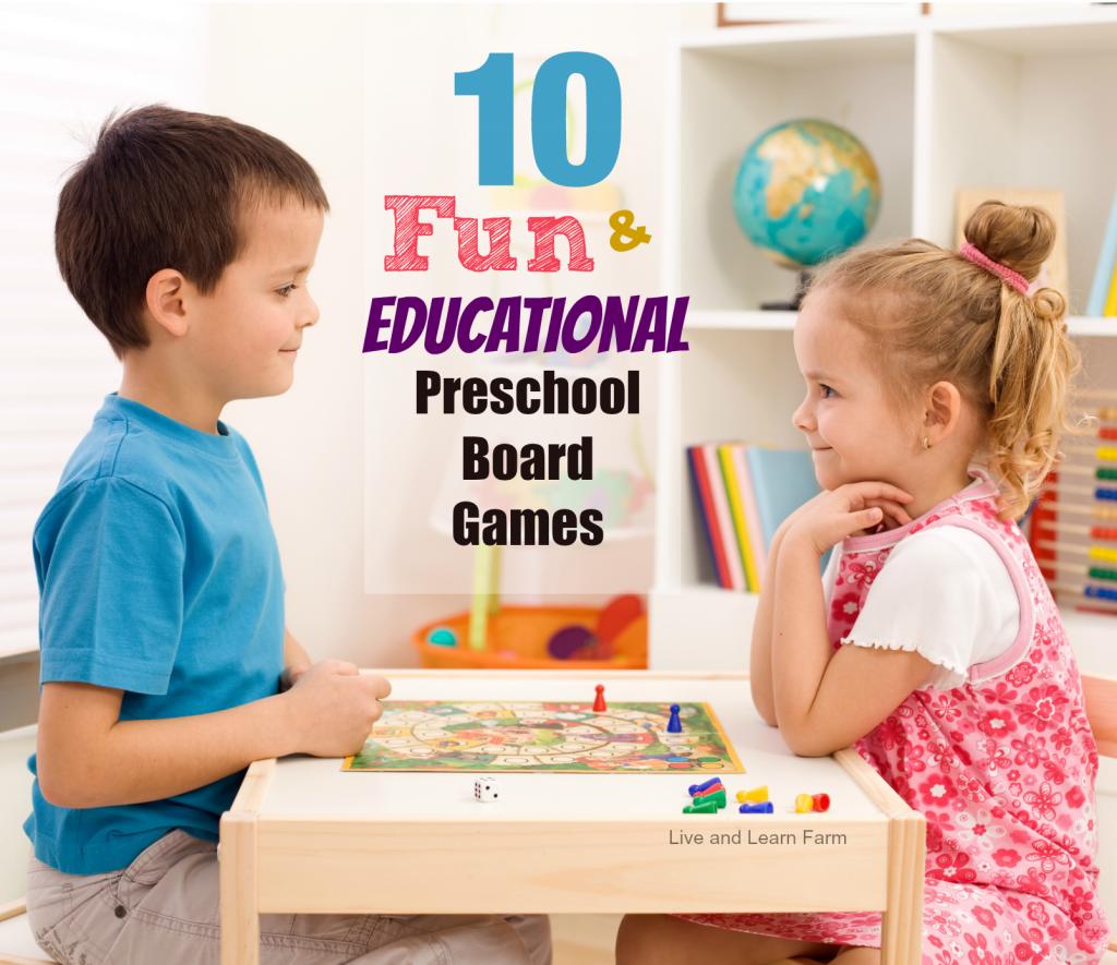 10 fun and educational preschool board games